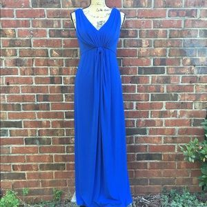 Chico's royal blue maxi dress size 0